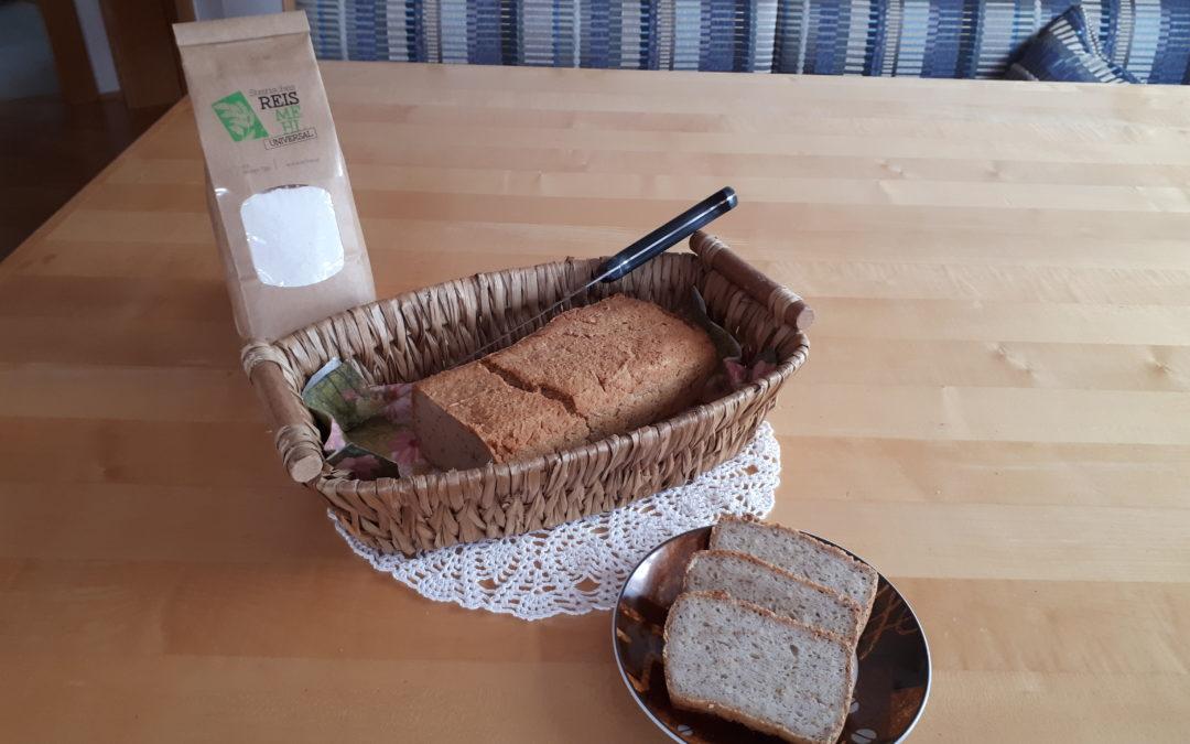 Reisbrot mit Mandeln