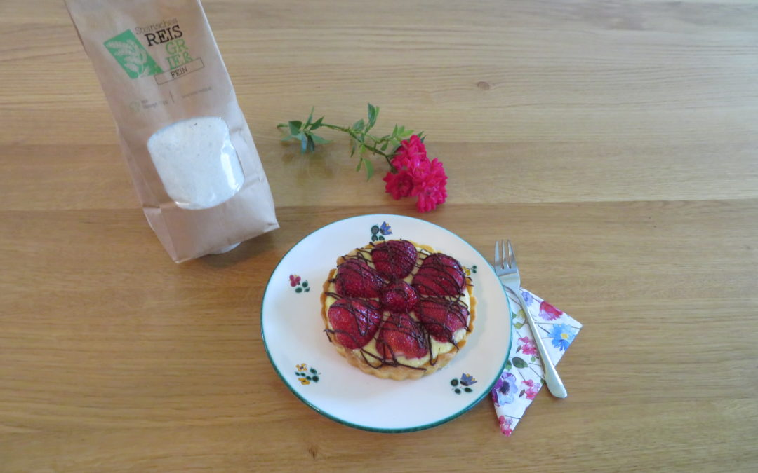 Reisgrieß-Erdbeer-Tarte
