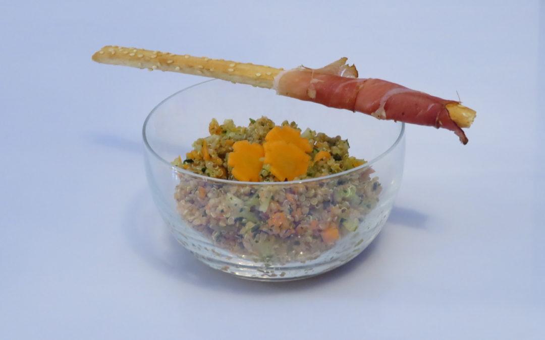 Quinoa-Wintersalat
